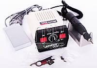 Фрезер Strong 204 на 65 Вт и 35000 об/мин с ручкой SDE-H37L1 для маникюра и педикюра