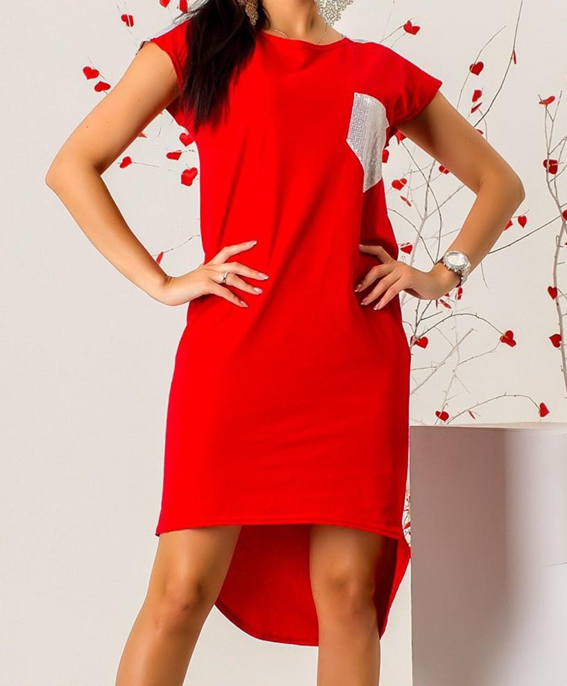 85d273509d1 Платье с карманом женское (стрейч  коттон)  продажа