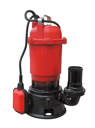 Насос фекальный Optima WQD 15-15 1.5 кВт, фото 2