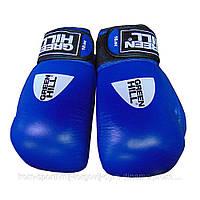 Боксерские перчатки Green Hill Knock кожа 12 oz