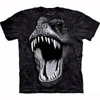 Детская футболка THE MOUNTAIN - Big Face Glow Rex - Светится в темноте!