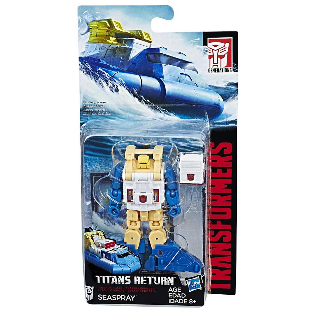 """Трансформер Сиспрей (Спасатель) """"Возвращение Титанов"""" - Seaspray, Titans Return, Legends Class, Hasbro"""