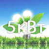 Мережева сонячна станція 5 кВт. (1-фазний, 1 МРРТ)