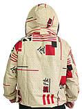 Куртка с маской евро, ситец, фото 2