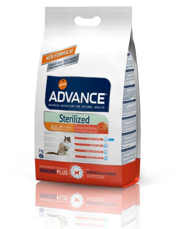 Advance (Эдванс) Cat STERILIZED with Salmon - корм для стерилизованных кошек (лосось)