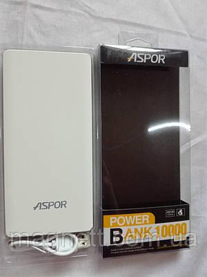 Внешний аккумулятор Power Bank Aspor A341 10000mAh