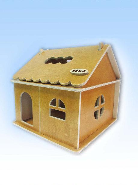 Кукольный домик тонированный 1эт.