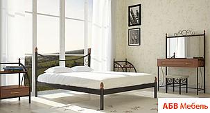 Кровать Калипсо 2 черная 140*200 (Металл дизайн), фото 2