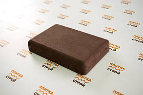 Тротуарная плитка Брук стенд 20 300, Брук, Вибролитая, коричневый