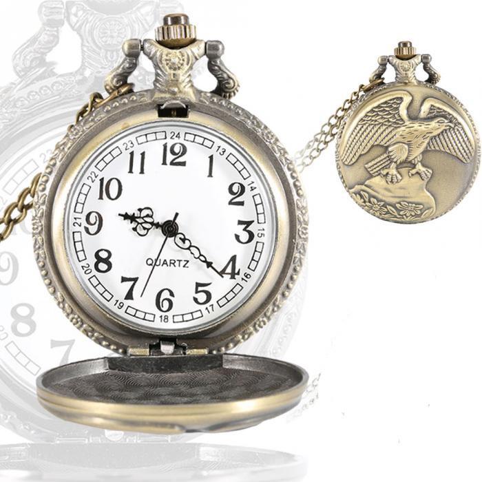 Мужские часы Desert Eagle карманные с цепочкой
