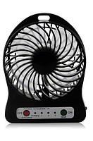 Мини вентилятор mini fan XSFS-01 с аккумулятором 18650 Black, фото 1