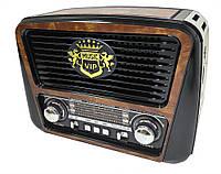 Радиоприемник колонка MP3 Golon RX-435 Wooden, фото 1