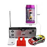 Радиоуправляемая игрушка GLOBAL DRONE Mini Car Машинка на радиоуправлении в банке 1:63 Многоцветный (SUN0666)