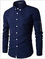 Рубашка с молнией на рукаве. Размер 50, фото 1