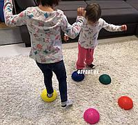 Полусфера массажная балансировочная (массажер для ног, стоп) OSPORT (FI-4939)
