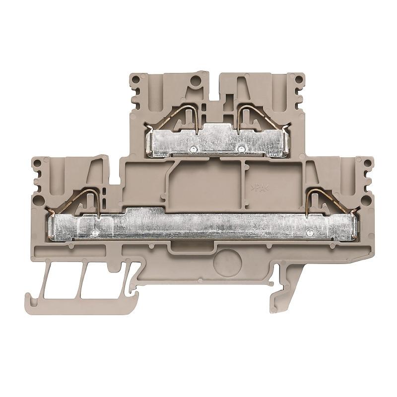 Клеммы PUSH IN  Weidmuller PDK 2.5/4N-L - 1918740000