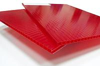 Поликарбонат сотовый OSCAR 4 мм Красный, фото 1