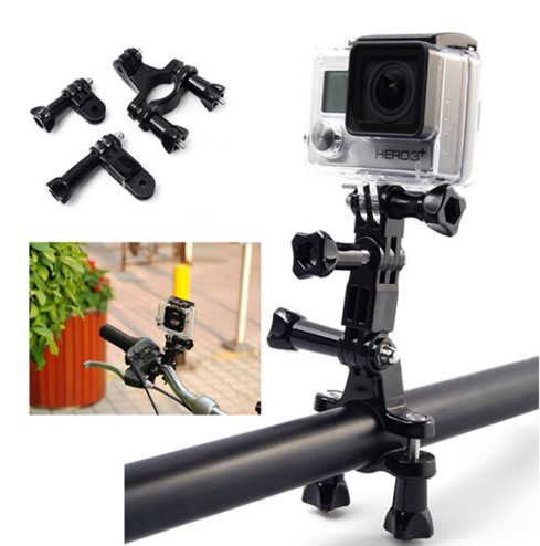 Крепление на трубу (руль) с диаметром 1.9cm-3.5cm  для экшн камер с переходниками