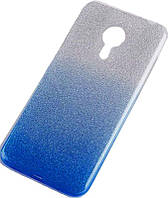 Чехол-накладка TOTO TPU Case Rose series Gradient Meizu M5s Blue