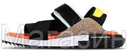 Мужские сандалии Adidas Y-3 Qasa Kaohe Sandal (Адидас) черные