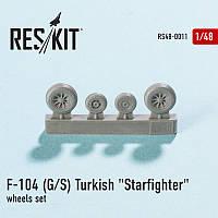 """Lockheed F-104 (G/S) Turkish """"Starfighter"""" 1/48  RES/KIT 48-0011"""