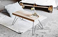 Столик журнальный на тонких ножках в стиле лофт, фото 1