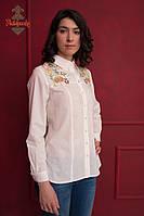 Жіноча сорочка з вишивкою Кульбаба оранж, фото 1