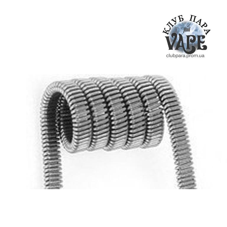 Fused Clapton койл (спираль) 0,3 ом для электронных сигарет 2шт