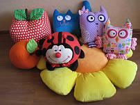 Игрушки подушки животные
