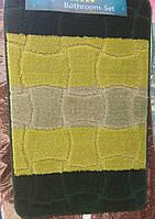 Набор ковриков для ванная+туалет, фото 1