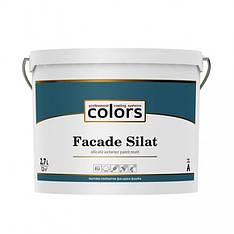 Силикатная фасадная краска Colors facade Silat 2,7л, 9л