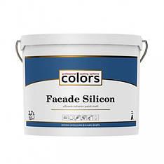 Cиликоновая фасадная краска Colors facade Silicon 2,7л, 9л