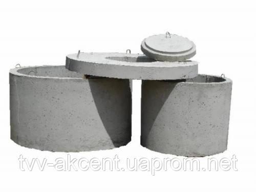 Плита перекриття колодязя 1ПП 30-1