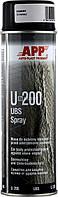 Средство для защиты кузова APP-U200 в аэрозоле барашек 500мл, черное 050204