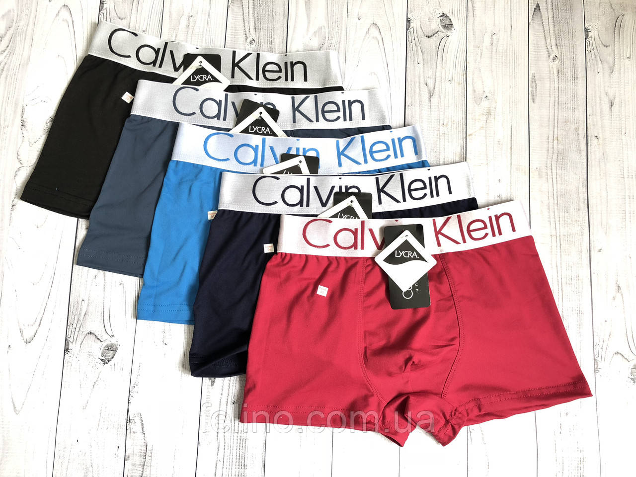 Мужские боксёры (LYCRA) Calvin Klein 12шт упак XL  продажа 7b83eb503a19a