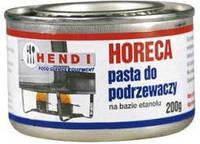 Горючая паста для подогрева мармитов HORECA - банка 200 гр - этанол, упаковка 6 шт. Hendi (Польша)