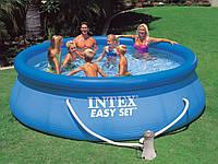 Бассейн надувной Intex 28132 круглый 3.66x0,76 м