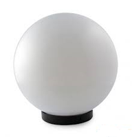 Светильник садово-парковый ELECTRUM GLOBE (шар) 250мм белый E27