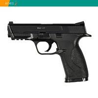 Пневматический пистолет Gletcher SW MP Smith & Wesson M&P40 Смит и Вессон пластик газобаллонный CO2 120 м/с