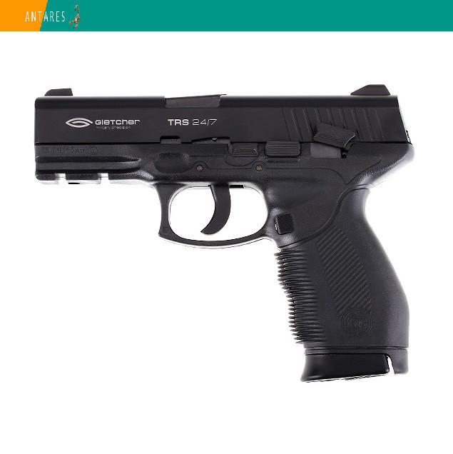 Пневматический пистолет Gletcher TRS 24/7 Taurus PT 24/7 Таурус пластик газобаллонный CO2 130 м/с