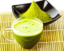 Чай-матча «Японський латте»