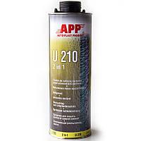 """Средство для защиты кузова  герметик APP-U210 """"2 в 1"""" 1л, серый 050111"""