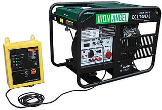 Генератор с автозапуском Iron Angel EG11000EA3 (11 кВт, 1 / 3 ф)