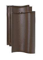 Керамическая черепица Meyer-Holsen модель Vario цвет ангоб коричневый бразильский