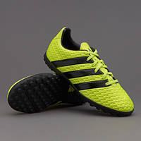Детская футбольная обувь (многошиповки) Adidas ACE 16.4 TF Junior