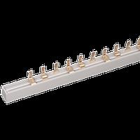 Шина соединительная типа FORK (вилка) 1Р 100А, длиной 1м IEK