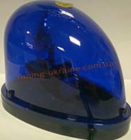 Мигалка на магните синего цвета. Форма - Капля
