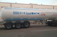Цистерна - полуприцеп газовоз типа DM-LPG, 45m3 NURSAN TRAILER