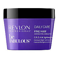 Revlon Professional Be Fabulous C.R.E.A.M. Lightweight Mask Легкая маска для тонких волос 250мл