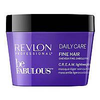 Revlon Professional Be Fabulous C.R.E.A.M. Lightweight Mask Легкая маска для тонких волос 500мл